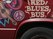 Red Blues Bus